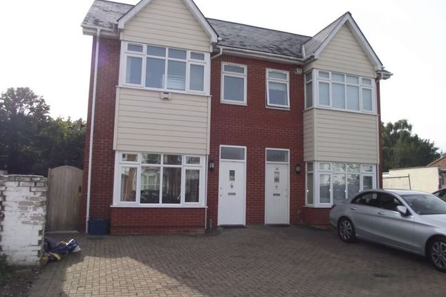 Thumbnail Semi-detached house to rent in Tunbridge Road, Southend-On-Sea