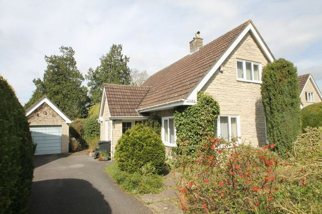 Thumbnail Detached bungalow for sale in Glebe Paddock, Wookey, Wells