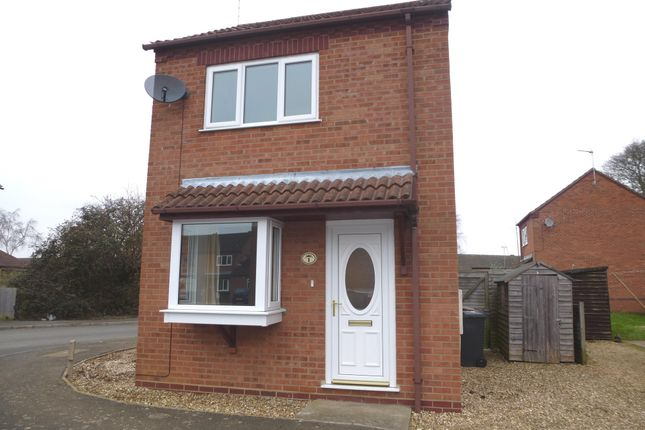 Thumbnail Detached house to rent in Summerfield Court, Sleaford