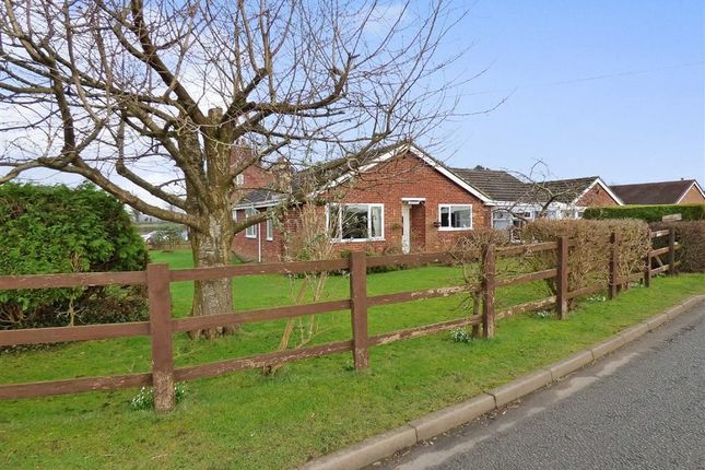 Thumbnail Detached bungalow for sale in Birch Lane, Middlewich, Cheshire