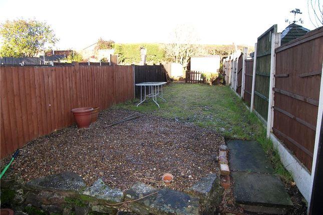 Garden of Kilbourne Road, Belper DE56