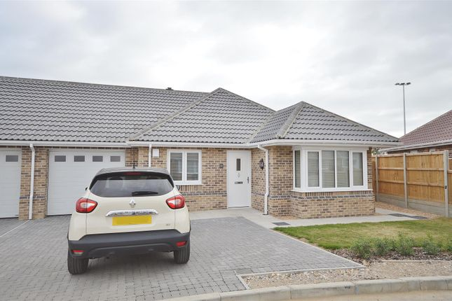 Thumbnail Detached bungalow for sale in Connaught Close, Connaught Gardens East, Clacton-On-Sea