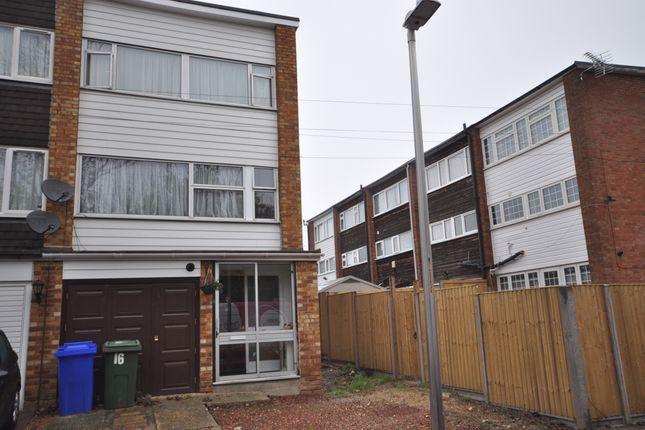 Thumbnail Town house to rent in Wykeham Road, Murston, Sittingbourne