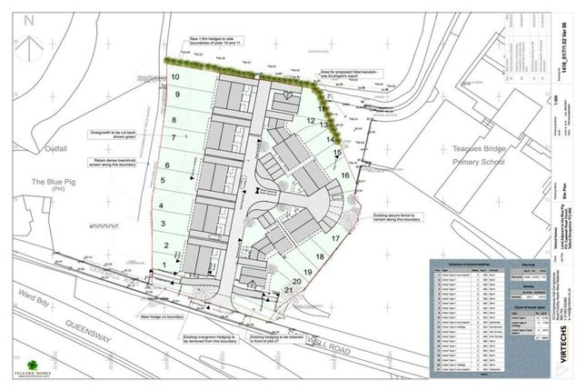 Thumbnail Land for sale in Capewell Road, Trench, Telford