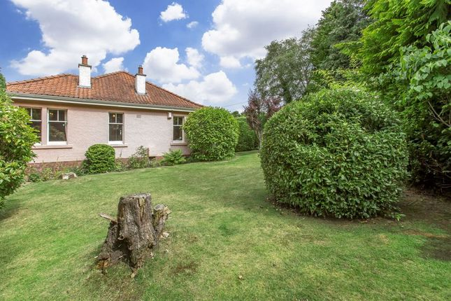 Thumbnail Detached bungalow for sale in 3 Capelaw Road, Colinton, Edinburgh