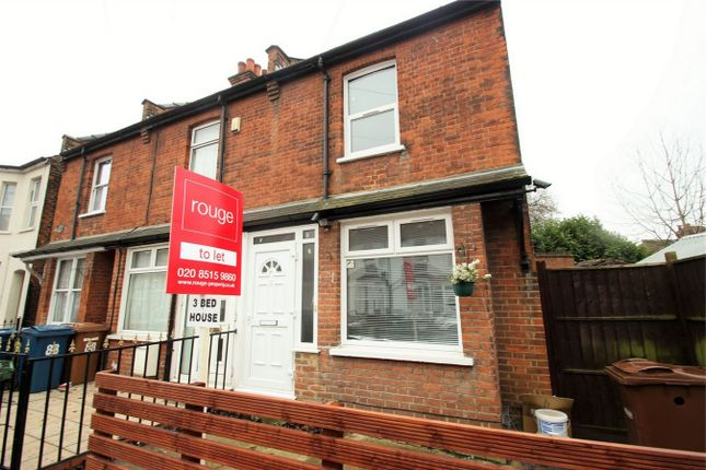 Thumbnail Semi-detached house to rent in Graham Road, Harrow, Middlesex