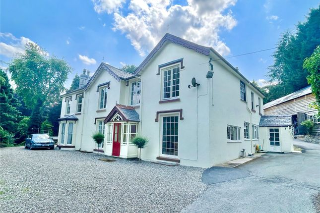 Thumbnail Detached house for sale in Llanfair Caereinion, Welshpool, Powys
