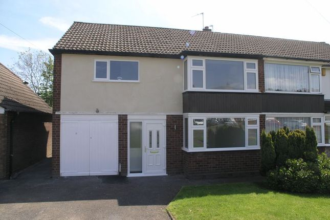 Thumbnail Semi-detached house for sale in Fairbourne Avenue, Rowley Regis