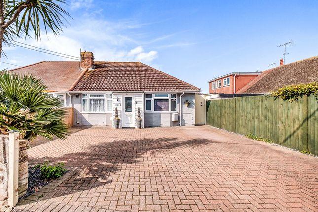 Thumbnail Semi-detached bungalow for sale in Clarence Avenue, Wick, Littlehampton