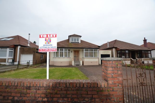 Thumbnail Bungalow to rent in Barr Crescent, Largs, North Ayrshire