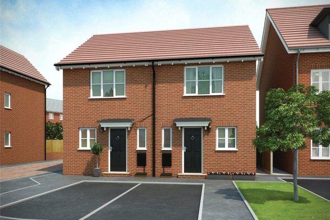 Thumbnail Semi-detached house for sale in Plot 99 Weaver Phase 3, Navigation Point, Cinder Lane, Castleford