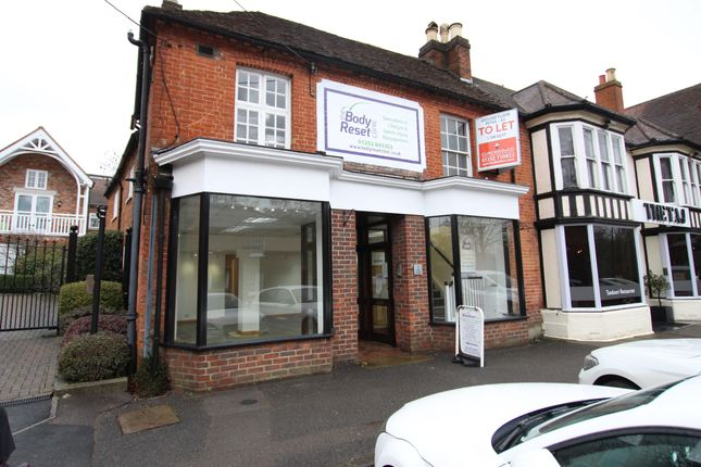 Thumbnail Retail premises to let in Hartley Mews, High Street, Hartley Wintney, Hook