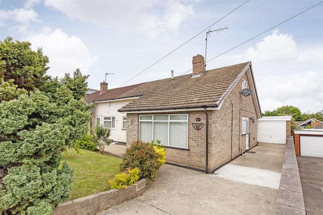 Thumbnail Semi-detached bungalow for sale in Beeley Close, Inkersall, Chesterfield