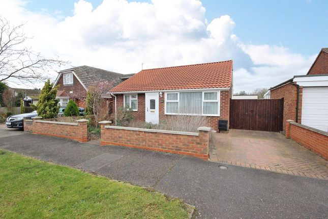 Thumbnail Detached bungalow for sale in Gostwick Place, Willington, Bedford