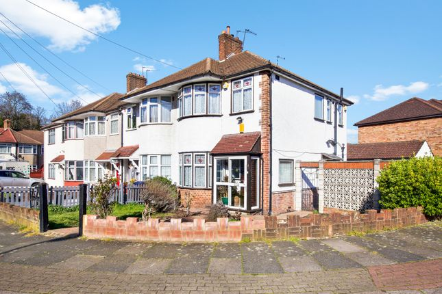 Thumbnail End terrace house for sale in Wharncliffe Drive, Southall