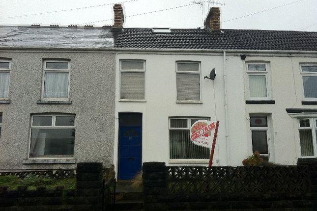 Thumbnail Terraced house to rent in Maesteg Road, Maesteg, Bridgend.