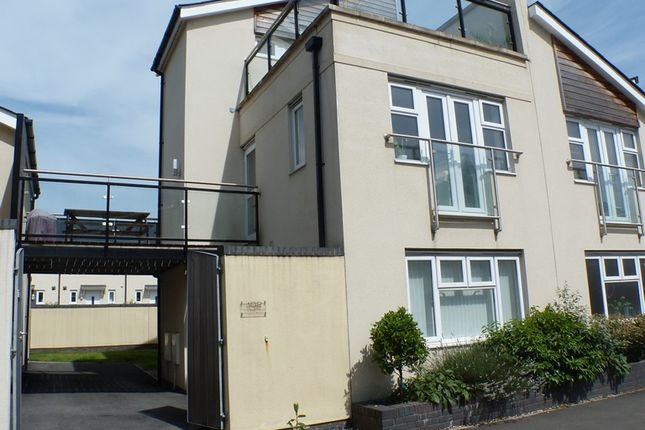Thumbnail Town house to rent in Phoebe Road, Swansea