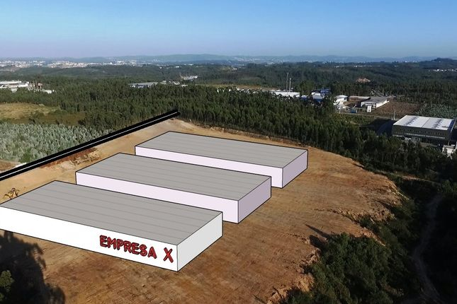 Thumbnail Industrial for sale in Plot For Industrial Facilities / Warehouses, Leiria, Central Portugal