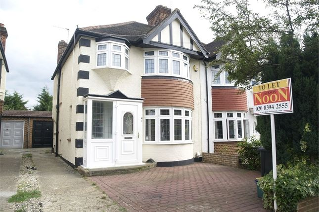 Thumbnail Semi-detached house to rent in River Way, Ewell, Epsom