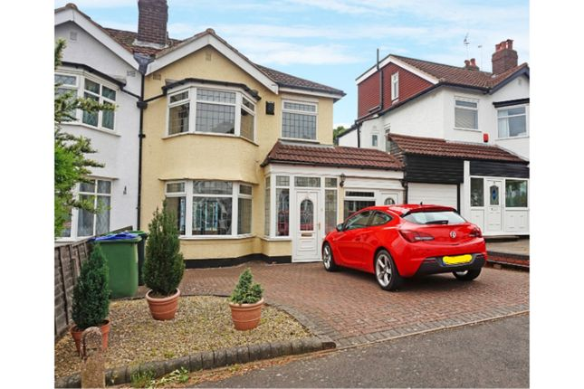 Thumbnail Semi-detached house for sale in Holly Road, Oldbury