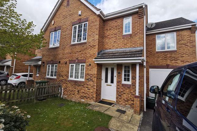 Thumbnail Semi-detached house to rent in Hawksmoor Lane, Stoke Park, Bristol