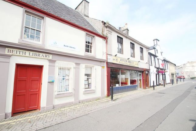 Thumbnail Commercial property for sale in 47A, Main Street, Beith KA152Ad