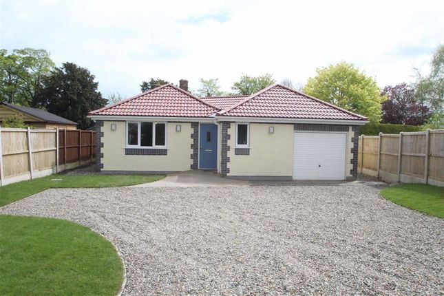 Thumbnail Detached bungalow for sale in Church Lane, St. Martins, Oswestry