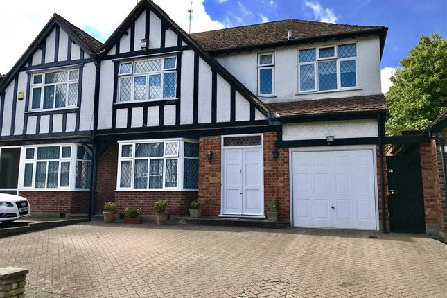 Thumbnail Semi-detached house for sale in Pangbourne Drive, Stanmore