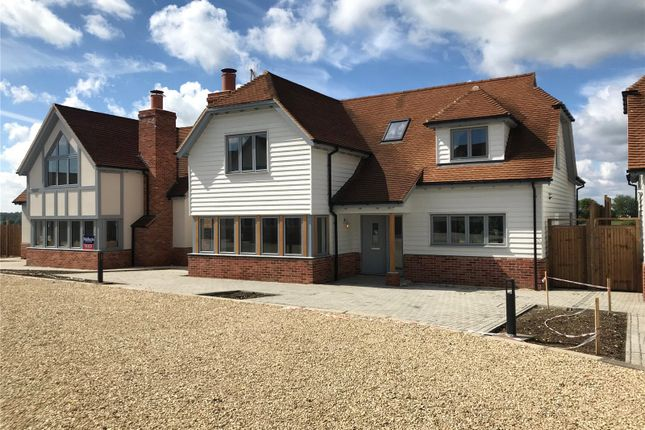 Thumbnail Detached house for sale in Herb Farm Granaries, London Road, Thornwood, Essex