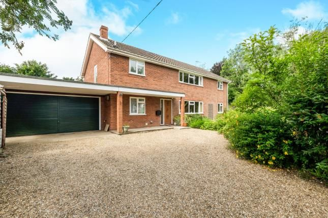Thumbnail Detached house for sale in Cratfield, Halesworth, .