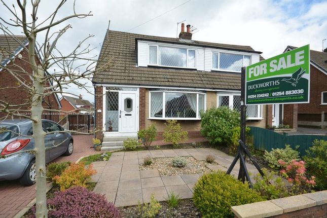 Thumbnail Semi-detached house for sale in Devonshire Road, Rishton, Blackburn