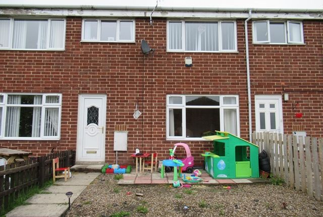Thumbnail Terraced house to rent in Linden Close, Shildon