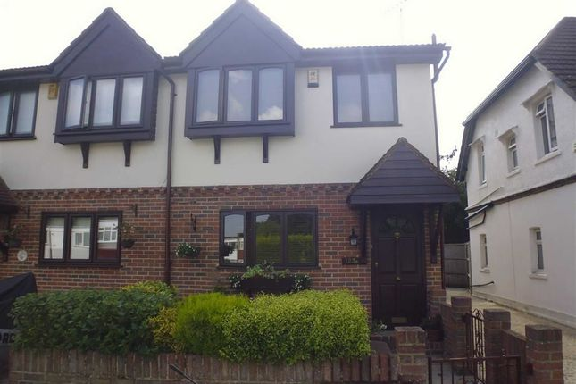 Thumbnail Semi-detached house for sale in Long Green, Chigwell, Essex
