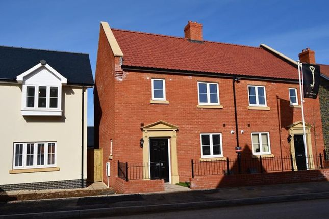 Thumbnail Semi-detached house to rent in Loscombe Meadow, North Curry, Taunton, Somerset