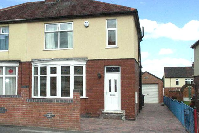 Thumbnail Semi-detached house to rent in Grenfell Avenue, Mexborough