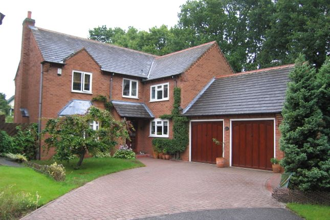 Thumbnail Detached house to rent in Brampton Crescent, Shirley, Solihull