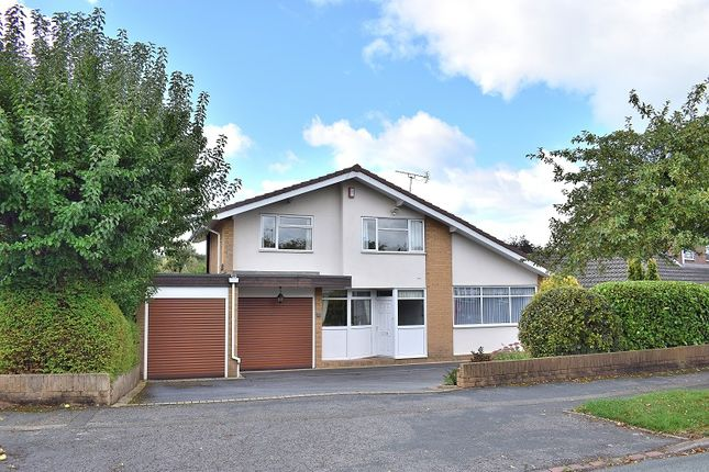 Thumbnail Detached house for sale in Repton Drive, Westlands. Newcastle Under Lyme