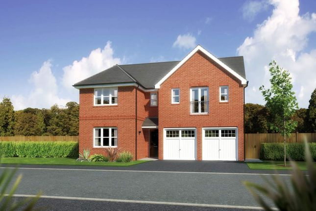 "Thumbnail Detached house for sale in ""Kingsmoor"" at Close Lane, Alsager, Stoke-On-Trent"