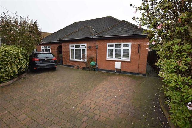 Thumbnail Detached bungalow for sale in Laburnum Drive, Old Corringham, Essex