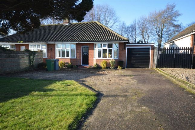 Thumbnail Semi-detached bungalow for sale in Holt Road, Hellesdon, Norwich