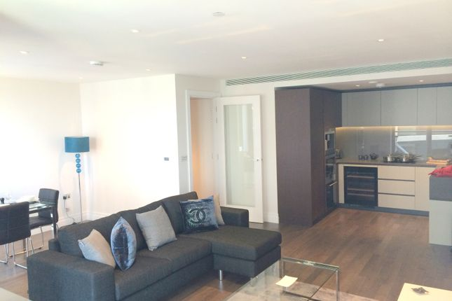 Thumbnail Flat for sale in Nine Elms Road, London