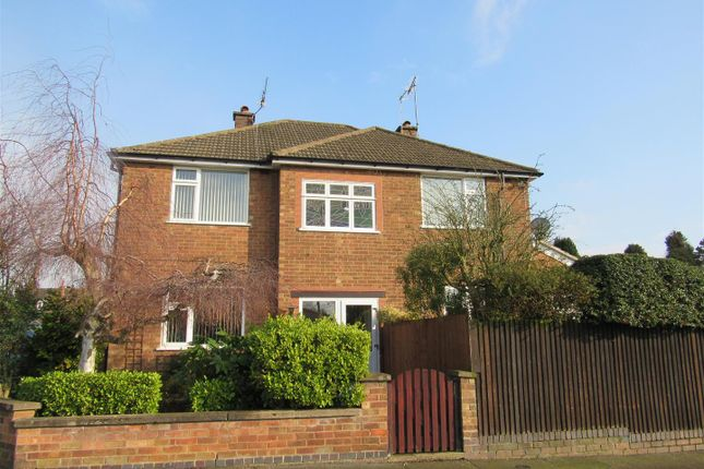 Thumbnail Detached house for sale in Greendale Road, Glen Parva, Leicester