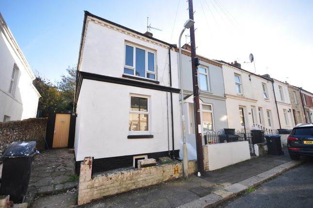 Thumbnail End terrace house to rent in Clarendon Place, Dover