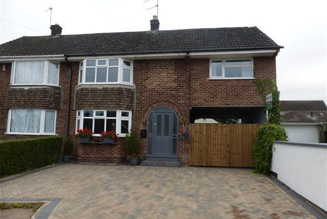 Thumbnail Semi-detached house to rent in Welbeck Grove, Allestree, Derby