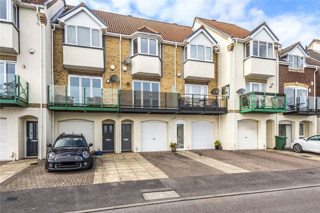 Thumbnail Town house for sale in Pacific Close, Southampton, Hampshire