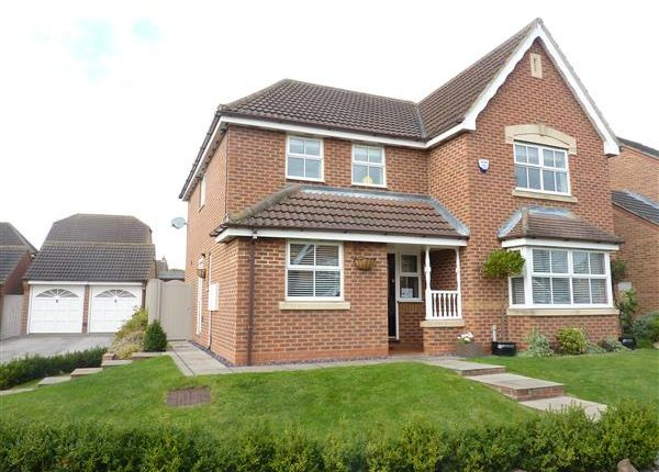 Thumbnail Detached house for sale in Bluebell Court, Healing, Grimsby