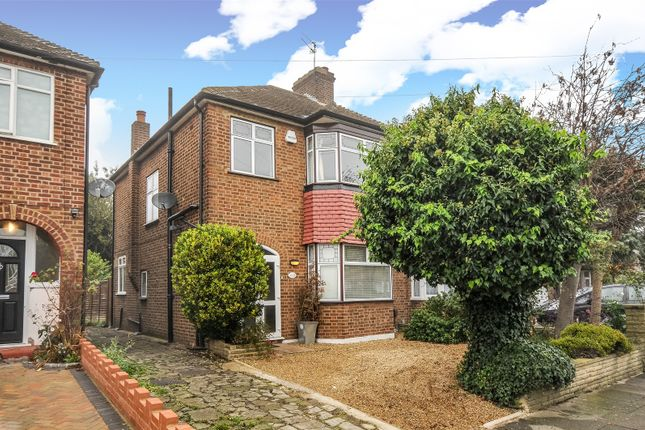 Thumbnail Semi-detached house for sale in Delhi Road, Enfield, Middlesex