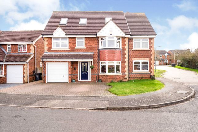 Thumbnail Detached house for sale in Orchid Place, Broughton Astley, Leicester, Leicestershire