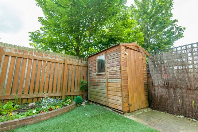 Garden And Shed of Astcote Court, Kirk Sandall, Doncaster DN3