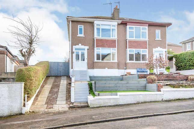 Thumbnail Semi-detached house for sale in Morven Drive, Clarkston, Glasgow